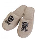 Тапочки мужские Soft Cotton LUXURE бежевый 42-44, фото, фотография