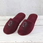 Тапочки мужские Soft Cotton LUXURE бордовый 42-44, фото, фотография