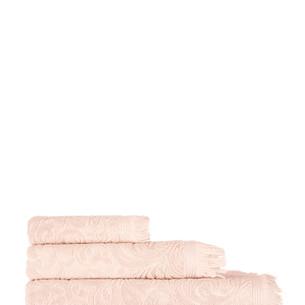 Полотенце для ванной Karna ESRA хлопковая махра абрикосовый 90х150
