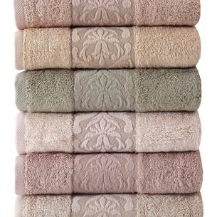 Набор полотенец для ванной 6 шт. Pupilla GLORY бамбуковая махра 50х90