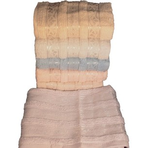 Набор полотенец для ванной 6 шт. Miss Cotton AZUR хлопковая махра 70х140