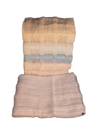 Набор полотенец для ванной 6 шт. Miss Cotton AZUR хлопковая махра 70х140, фото, фотография