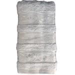 Набор полотенец для ванной 6 шт. Miss Cotton AZUR хлопковая махра 50х90, фото, фотография
