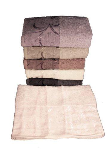 Набор полотенец для ванной 6 шт. Miss Cotton DAISY хлопковая махра 50х90, фото, фотография