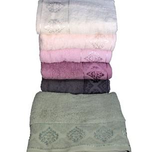 Набор полотенец для ванной 6 шт. Miss Cotton DAMASK хлопковая махра 70х140