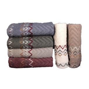 Набор полотенец для ванной 6 шт. Miss Cotton ELEGANS хлопковая махра 70х140