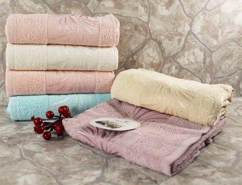 Набор полотенец для ванной 6 шт. Miss Cotton MANOLYA хлопковая махра 50х90, фото, фотография