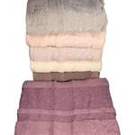 Набор полотенец для ванной 6 шт. Miss Cotton SAKURA хлопковая махра 50х90, фото, фотография