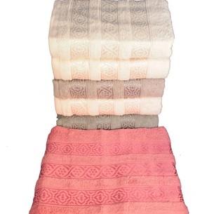 Набор полотенец для ванной 6 шт. Miss Cotton TRIO хлопковая махра 70х140