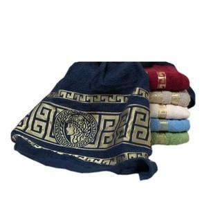 Набор полотенец для ванной 6 шт. Luzz MEDUSA хлопковая махра 90х150