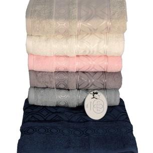 Набор полотенец для ванной 6 шт. Luzz SARAY хлопковая махра 70х140