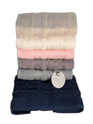 Набор полотенец для ванной 6 шт. Luzz SARAY хлопковая махра 70х140, фото, фотография
