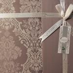 Постельное белье Gardine's BUKLE бамбуковый сатин-жаккард фиолетовый евро, фото, фотография