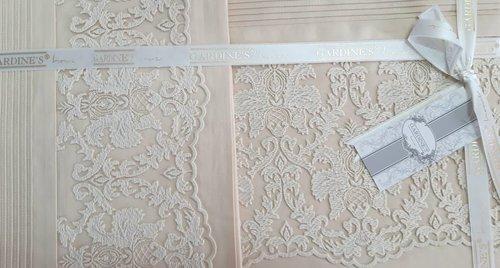 Постельное белье Gardine's MILA хлопковый сатин бежевый евро, фото, фотография