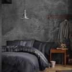 Постельное белье Saheser JACQUARD VIP SATIN BRILLIANT хлопковый сатин-жаккард антрацит евро, фото, фотография