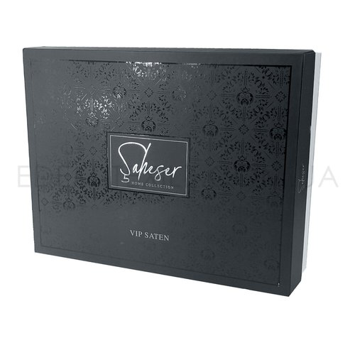 Постельное белье Saheser JACQUARD VIP SATIN HARLEY хлопковый сатин-жаккард сиреневый евро, фото, фотография
