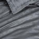 Постельное белье Karna BENOIT бамбуково-хлопковый сатин антрацит евро, фото, фотография