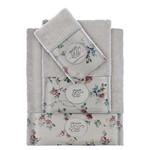 Подарочный набор полотенец для ванной 2 пр. Tivolyo Home ROSELAND LUX хлопковая махра ментол, фото, фотография