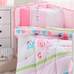 Набор в кроватку для новорожденных с одеялом Ozdilek BABY RABBIT
