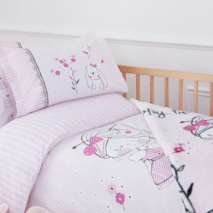 Набор в кроватку для новорожденных с пледом Ozdilek HAPPY LIFE
