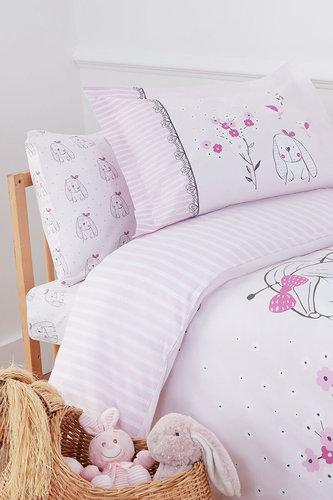 Набор в кроватку для новорожденных с пледом Ozdilek HAPPY LIFE, фото, фотография