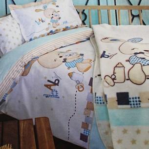 Набор в кроватку для новорожденных с пледом Ozdilek TOYS BABY
