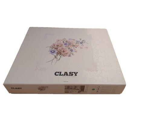 Постельное белье Clasy MIKANOS хлопковый ранфорс V1 евро, фото, фотография