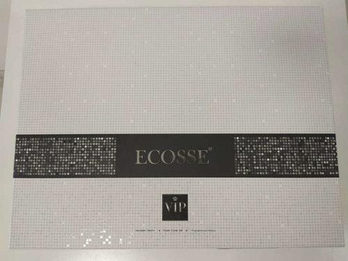 Постельное белье Ecosse SATIN JAKARLI LUMIA хлопковый сатин-жаккард бежевый евро, фото, фотография