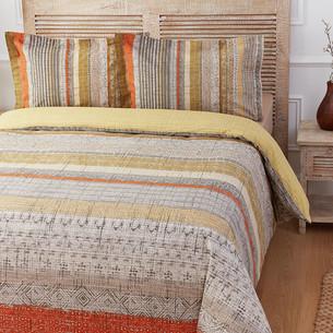 Постельное белье Ozdilek RANFORCE SUNSET LINES хлопковый ранфорс 1,5 спальный