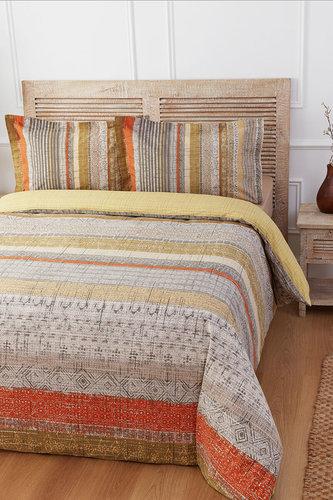 Постельное белье Ozdilek RANFORCE SUNSET LINES хлопковый ранфорс 1,5 спальный, фото, фотография