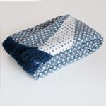 Плед Istanbul BAKLAVA хлопок синий 200х220, фото, фотография