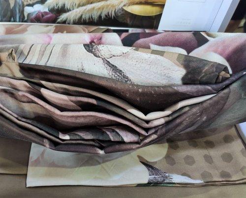 Постельное белье Pupilla VALERY хлопковый сатин евро, фото, фотография