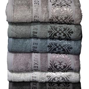 Набор полотенец для ванной 6 шт. Cestepe VIP BAMBOO EKOL бамбуковая махра 70х140