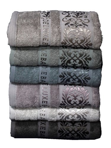 Набор полотенец для ванной 6 шт. Cestepe VIP BAMBOO EKOL бамбуковая махра 70х140, фото, фотография