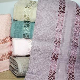 Набор полотенец для ванной 6 шт. Cestepe LUX COTTON MARE хлопковая махра 50х90