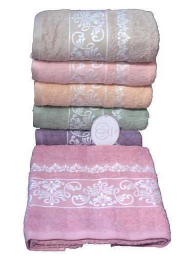 Набор полотенец для ванной 6 шт. Luzz PINAR хлопковая махра 70х140, фото, фотография