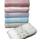 Набор полотенец для ванной 6 шт. Cestepe REGNUM ATHENA хлопковая махра 70х135, фото, фотография