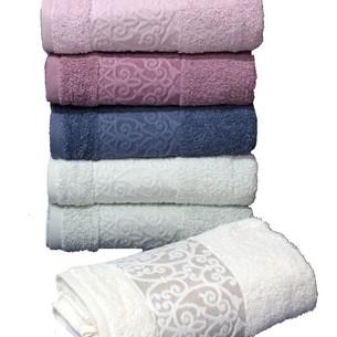 Набор полотенец для ванной 6 шт. Cestepe REGNUM CIGDEM хлопковая махра 70х135