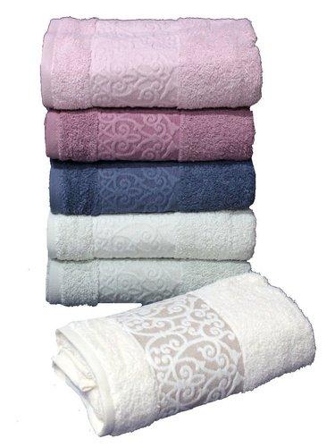 Набор полотенец для ванной 6 шт. Cestepe REGNUM CIGDEM хлопковая махра 70х135, фото, фотография