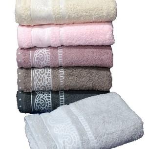 Набор полотенец для ванной 6 шт. Cestepe REGNUM DILARA хлопковая махра 50х90