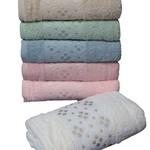 Набор полотенец для ванной 6 шт. Cestepe REGNUM NAGIHAN хлопковая махра 70х135, фото, фотография