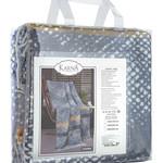 Плед-покрывало Karna FADERN хлопок/акрил 130х170, фото, фотография