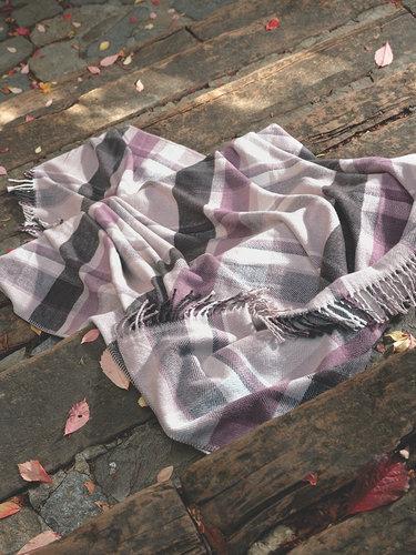 Плед-покрывало Karna LUGAN хлопок/акрил 130х170, фото, фотография