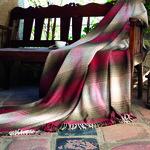 Плед-покрывало Karna RIVERA хлопок/акрил 200х220, фото, фотография