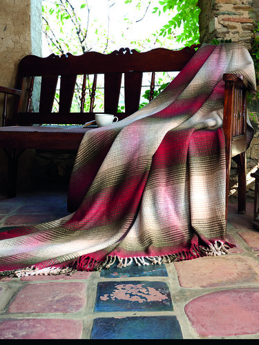 Плед-покрывало Karna RIVERA хлопок/акрил 150х200, фото, фотография