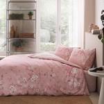 Постельное белье TAC HAPPY DAYS JULIAN хлопковый ранфорс пудра 1,5 спальный, фото, фотография
