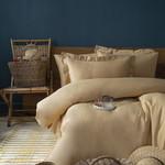 Постельное белье Issimo Home SIMPLY SATIN хлопковый сатин делюкс песочный 1,5 спальный, фото, фотография
