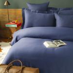 Постельное белье Issimo Home SIMPLY SATIN хлопковый сатин делюкс синий семейный, фото, фотография