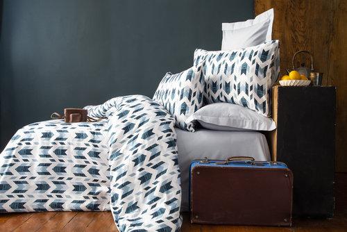 Постельное белье Issimo Home RANFORCE PRUVA хлопковый ранфорс серый семейный, фото, фотография