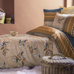 Постельное белье Issimo Home RANFORCE NAGOIA хлопковый ранфорс бежевый евро, фото, фотография